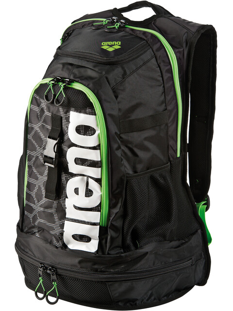 arena Fastpack 2.1 Backpack 45l black x-pivot-fluo green